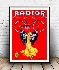 Radior  , Vintage Cycle  poster reproduction.