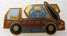 Pin's Un camion Truck PARIS LOCABEN   #E1