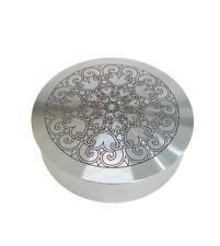 Circular Aluminum Jewelry Box