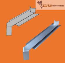 Eckverbinder 90° außen  für Alu Fensterbank weiß, EV1, bronze, RAL