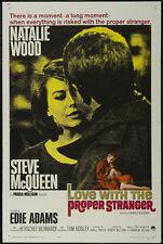 Love with the proper stranger Steve McQueen poster print 2
