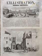 L'ILLUSTRATION 1853 N 530 ESPAGNE : LA MAISON DE DON JUAN A SEVILLE, Andalousie