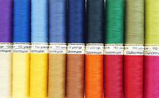 GUTERMANN Sew tutti i thread 100m & 500m & 1000m-VARI COLORI