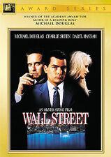 Wall Street DVD, 2000, Academy Awards Collection, Michael Douglas, Charlie Sheen