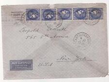 1940 France Concentration Internment Camp de Gurs prisoner Cover USA L Demuth