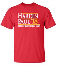 "James Harden Houston Rockets ""Harden Paul 18"" T-Shirt"