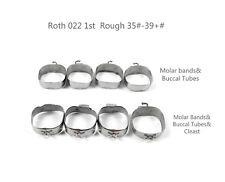 100Kits/400Pcs Dental Orthodontic 1st Molar Bands&Buccal Tube Roth 022 #35-#39+