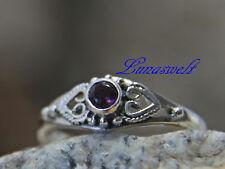 Mittelalter Ring ~ ANELYA ~ Amethyst - Silber 925