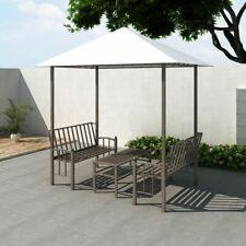 vidaXL Pavillon de Jardin avec Table et Bancs 2,5x1,5x2,4 m Tonnelle de Jardin