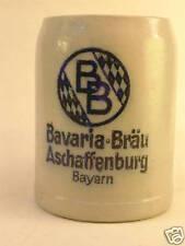 BIERKRUG   BAVARIA BRÄU ASCHAFFENBURG