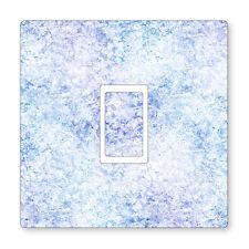 2x Stampato ghiaccio Texture-UK ADESIVI interruttore della luce, salotto camera da letto Decor