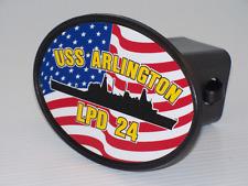 Uss Arlingtin Lpd 24 Hitch Cover Military Usn U S Navy