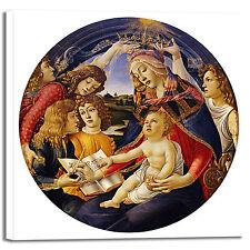 Botticelli Madonna of magnificat quadro stampa tela dipinto telaio arredo casa