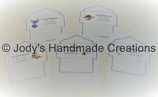 Personalized Disney Mousekeeping Envelopes / Free Shipping / Wdw / Disneyland