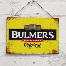 BULMERS CIDER Replica Vintage Metal Wall Sign Retro Pub Bar Mancave Irish Cyder