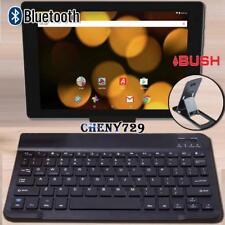 "For Argos Bush/Alba 10"" Tablet Slim Wireless Bluetooth Keyboard + Stand Holder"