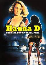Hanna D., La Ragazza del Vondel Park (DVD, 2009) RARE OOP GIALLO NUDITY SEVERIN