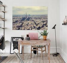 3D Misty Paris Wall Stickers Vinyl Murals Wall Print Decal Deco Art AJ STORE AU