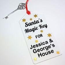 Santa's Magic Key Personalised Christmas Eve Santas Key Stocking Filler