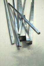 "Aluminium Square Bar 1/2"" to 2"" Various Lengths"