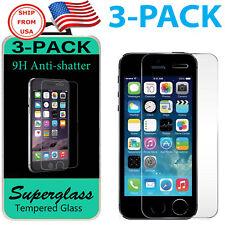 3PACK Protector de Pantalla Premium de Vidrio Templado Real Para iPhone de Apple