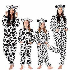 Ladies Animal Print Onesee with Hood & Ears Onezee Girls Jump Sleep Suit Pyjama