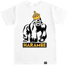 HARAMBE GORILLA RIP ZOO APE MONKEY FUNNY HUMOR TREND HIP HOP RAP MEME T SHIRT