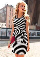Siena Studio Streifenkleid Jersey-Kleid Schwarz-beige. NEU!!! KP 89,90 € SALE%%%