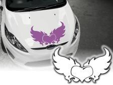 Auto Aufkleber geflügeltes Herz mit Flügel Schwingen Tribals Autoklebefolie