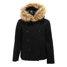 2234V giaccone bimba SCOTCH R'BELLE misto lana nero jacket kid