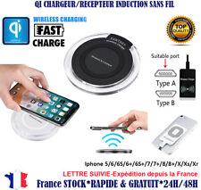 Patch Recepteur Qi chargeur Induction sans fil iPhone samsung HTC sony LG Xiaomi
