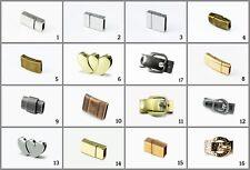 Magnetverschluss Magnet Verschluss für flache Bänder Schmuckverschluss, MV-10