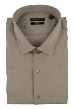 Kenneth Cole New York Men's Diamond Print Long Sleeve Dress Shirt