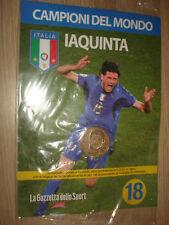 MEDAGLIA N° 18 ITALIA CAMPIONI DEL MONDO 2006 VINCENZO IAQUINTA