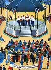 programme Les Compagnons de la Chanson 1970 Menton illustrateur R.Broussolle