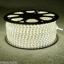 Blanc chaud bande led 220V 240V étanche IP68 3528 smd commercial corde feux