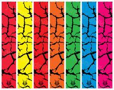 """15 - 6x1"""" Fluoro Cracks Fluoro Arrow Wraps Select your colour"""