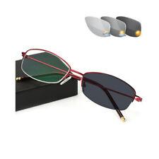 Color Change Lens Reading Glasses Photochromic Eyeglasses Women Sunglasses Frame