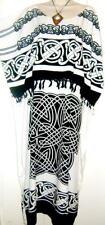 NEW CELTIC Kaftan Caftan Dress Plus One Size Cool Roman Long Ladies Soft beach