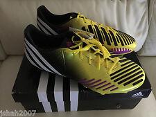 NEW ADIDAS PREDATOR LZ SG SN32 VIVID YELLOW FOOTBALL SOCCER BOOTS SHOES **LOOK**