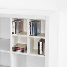 CD Einsatz für Ikea Kallax Expedit / CD Regal / Fach für CDs / CD Kreuz / weiß