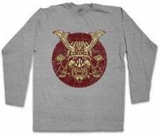 SAMURAI V manica lunga T-shirt SAMURAI NINJA GIAPPONE Warrior Sword dakana Armor degli armamenti