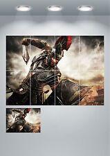 Soldado Romano Centurión Espada Gigante Pared arte cartel impresión