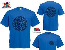 Blume des Lebens - T-Shirt - Flexdruck - verschiedene Farben