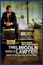 141405 TH LINCOLN LAWYER MATTHEW MCCONAUGHEY FRAMED CANVAS PRINT AU