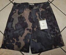Acne Studios Men's Allan Camo Print Shorts, Size 46