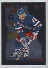 1995-96 Score Black Ice #156 Brian Noonan New York Rangers Hockey Card