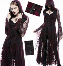 Veste robe dentelle gothique punk lolita mystique veine velours capuche PunkRave