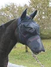 Kerbl Fliegenmaske Ohrenschutz Nüsternschutz Fliegenschutz Pferde Bremsen Schutz