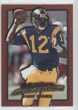 1997 Fleer Rookie Sensations #3 Tony Banks St. Louis Rams Football Card